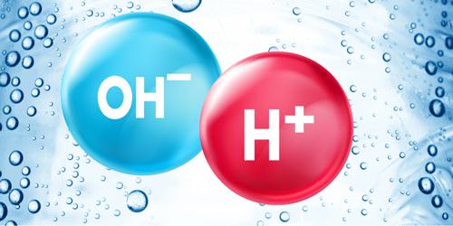 nước ion kiềm H+ OH-